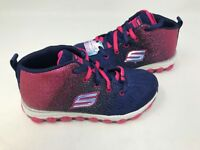 NEW! Skechers Youth Girl's SKECHAIR ULTRA Shoes Nvy/Pnk #80014L 176T z