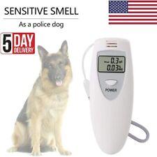 Professional White Digital Breathalyzer Breath Alcohol Tester Test Machine Tool