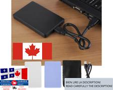 USB Hard Drive Disk External Enclosure Case / Boîtier disque dur externe