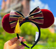 Disney Parks Tower Hotel Of Terror Loungefly Minnie Ears Headband - New