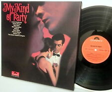 MY KIND OF PARTY various artists Polydor 3x LP box set in EXCELLENT condition