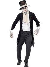 Déguisement Pour Hommes Zombie Groom Till Mort Halloween Grande Taille