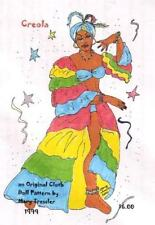 """*NEW* CLOTH ART DOLL (PAPER) PATTERN """"CREOLA"""" BY MARY TRESSLER"""