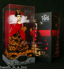 Queen of Hearts Villains Disney Designer Doll Collection Disney Store Exclusive
