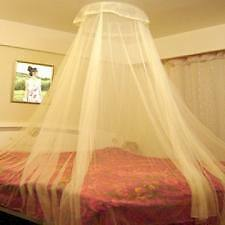 ANS MOSQUITO NET ROUND DOUBLE  BED And SINGLE BED MULTI PURPOSE