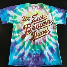 Zac Brown Band Concert T Shirt M Adult 2010 Tour Wood Brothers Tye Dye