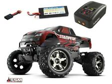 Traxxas Stampede 4x4 BRUSHLESS Monster Truck VXL 2018 + LiPo, Lader - 67086-4SET