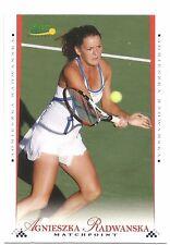 2008 ACE AGNIESZKA RADWANSKA MATCHPOINT BASE #11