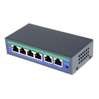 6-Port Gigabit Netzwerk Switch Lan Kabel Switch POE Splitter Lan Adapter