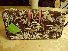Vera Bradley KNOT JUST A CLUTCH in IMPERIAL TOILE MSRP $54.00 BNWT FREE SHIPPING