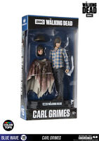 Carl Grimes The Walking Dead Color Tops #15 Blue Wave 18 cm Figur McFarlane