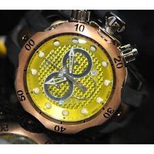 Invicta Men's Rare Swiss Reserve Venom Chrono Yellow Dial Silicone Watch 6715