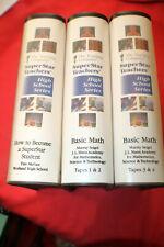 The Teaching Company Super Star Teachers High School Series Basic Math 8 Tapes