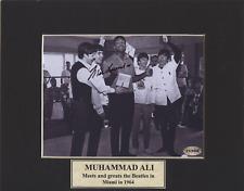 THE BEATLES / MUHAMMAD ALI / GENUINE HAND-SIGNED PHOTO / COA