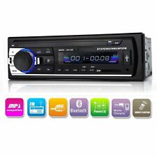 Car Audio MP3 Player Bluetooth USB SD FM Radio Stereo In Dash Music Digital Aux