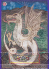 """""""White Dragon"""" Original Art Limited Edition Numbered Print A1 Signed -ZAM™ 2018"""