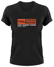 HAL 9000 Computer 2001 A Space Odyssey Fan Damen T-Shirt Stanley Kubrick