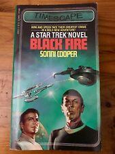 Star Trek Black Fire Sonni Cooper First Printing US Timescape