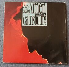 Serge Gainsbourg, hey man amen live / bonnie and clyde live, SP - 45 tours