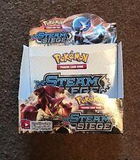 Pokemon XY Steam Siege Booster Box (EMPTY NO CARDS) FREE SHIP