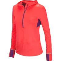 New Balance Women's Impact 1/2 Zipper Hoodie WRT3115 Running Jogging Activewear