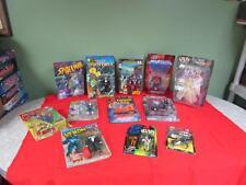 Super Hero 12 Action Figure Lot Spawn, Spiderman, Yu-Gi-Oh, Fantastic Four etc.