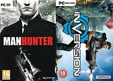 manhunter & inversion    new&sealed