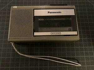 Vintage Panasonic RQ-339 Cassette Tape Recorder Player One Touch Auto-Stop