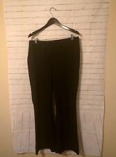 Women's Motherhood Maternity Striped Dress Pants, Size M