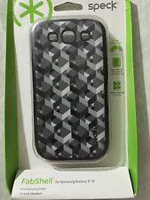 Speck Gray Black FabShell case for Samsung Galaxy SIII  S3