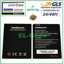 BATTERIA ORIGINALE MEDIACOM PHONEPAD DUO S532L M-PPBS532L BATS532 2600 mAh 3.8V
