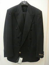 Principe by Marzotto Tuxedo Black 38-R ~ Made in Italy ~ New w/ tag Retail $1495
