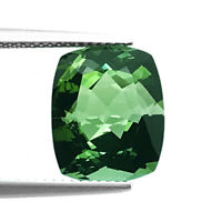 Flawless Tourmaline 9.05ct aaa+ green color 100% natural earth mined Mozambique