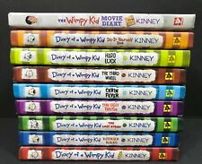 Diary Of A Wimpy Kid 9 Book Lot HC 1 2 3 5 6 7 8 Do It Yourself Movie Diary