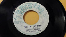 "Prince Jazzbo & The Celected Few - Sin&Shame/Wood &Stone/ Reggae 7"" Count 1.2.3"