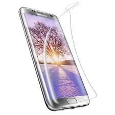 2x Panzer Folie Samsung Galaxy S7 Edge Display Schutz Folie Glas Klar Full TPU