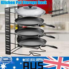 Kitchen Storage Racks Organizer Pot Pan Cookware Lid Pantry Rack Cutting Boards