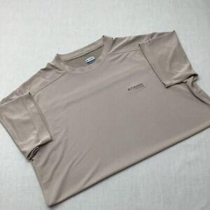 Camiseta De Manga Corta Columbia Omni Freeze Sport Wear Franela Para hombre XL