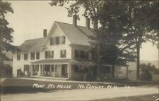 North Conway NH Mort Mt House c1910 Real Photo Postcard