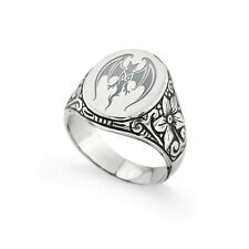 Anello Hollywood Vampires in Argento 925 - Johnny Depp ring in sterling silver