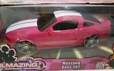 Jada Toys Girlmazing 1:16 Jada R/C Car 2012 Ford Boss 302 Mustang Pink Remote