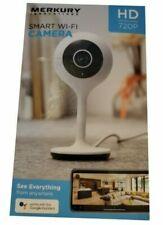 Merkury Innovations Mi-Cw007-199W Smart Security Camera Surveillance Wi-Fi
