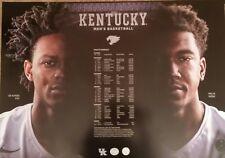 UK KY Kentucky Wildcats Basketball Poster 2016-17 FOX MONK NEW