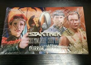 STAR TREK CCG : MIRROR, MIRROR LIMITED EDITION BOOSTER BOX (FACTORY SEALED)