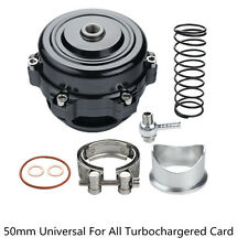 Car SUV Turbo 50mm Blow Off Valve 35 PSI BOV Flange Spring 0.4-1.3 Bar Universal