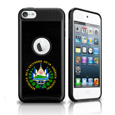 For Apple iPod Touch 5th 6th Shockproof Case El Salvador Escudo Coat of Arms