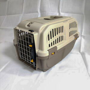 MPS Open Top Pet Transport Carrier Box for Cats Dogs Small Animals (Standard)