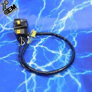 drz400sm Left Hand Switch Assembly Light Switch Turn Signal Hi Low Selector OEM