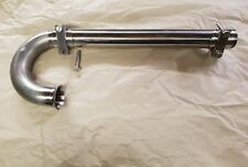 Ford Consul mk1 And Mk2  Hockey stick New in stanless steel and clamps to match