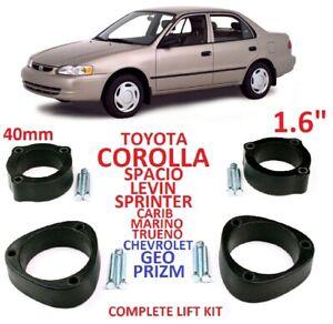 "Lift Kit for Toyota Corolla Spacio Sprinter Trueno Levin 1.6"" 40mm Strut spacers"